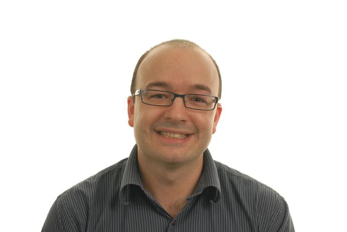 Portrait of Rupert Hough