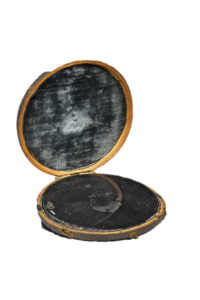 A 19th century Claude Glass, or Black Mirror