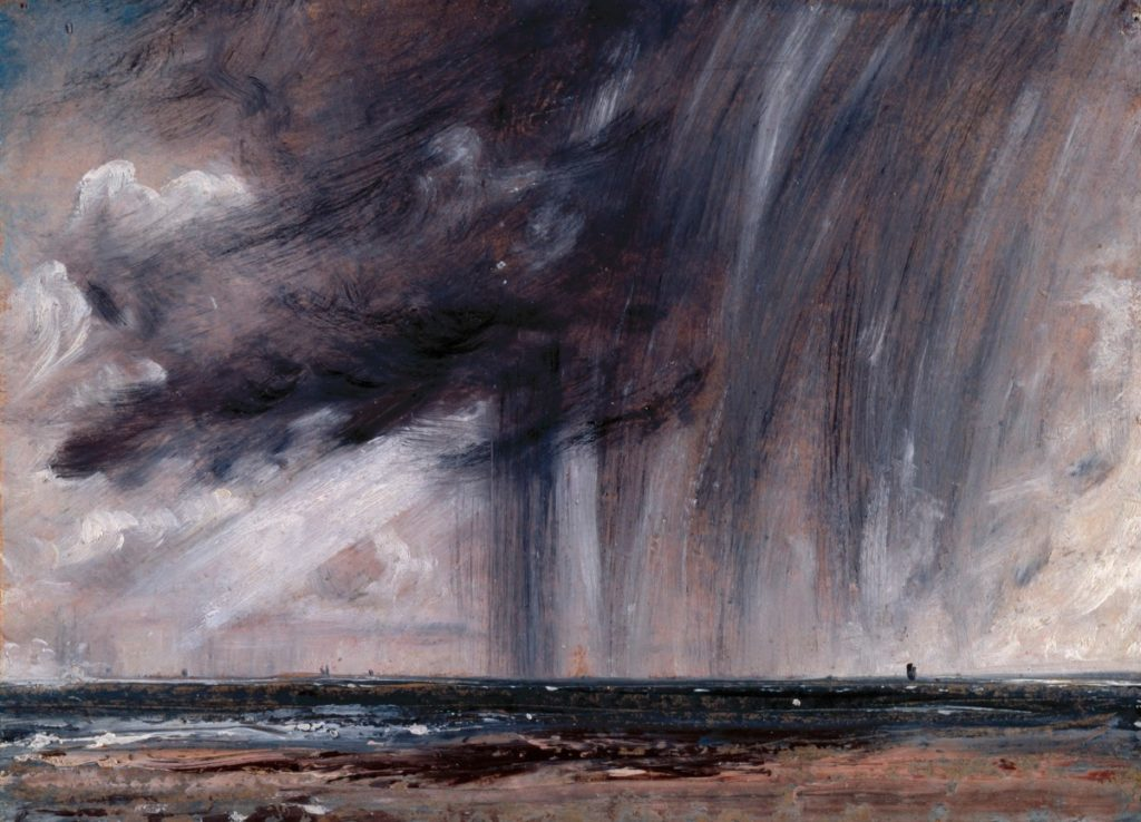 Constable, John; Rainstorm over the Sea; https://www.royalacademy.org.uk/art-artists/work-of-art/O1841 Credit line: (c)  (c) Royal Academy of Arts / Photographer credit: John Hammond /