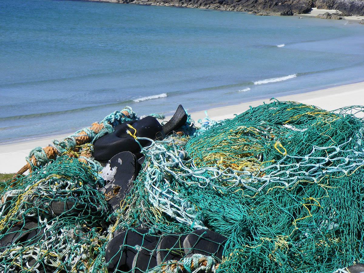 The shoreline on Shetland