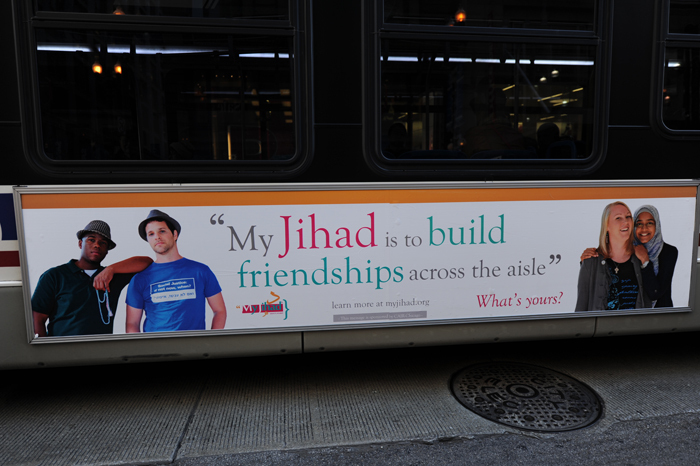 My Jihad, Controversial Ad Campaign, Rolls Out On San Francisco Buses