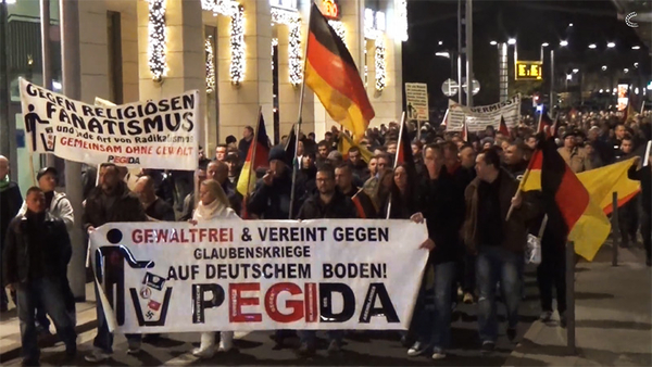 In Germany, a new wave of demonstrations against Muslims and refugees