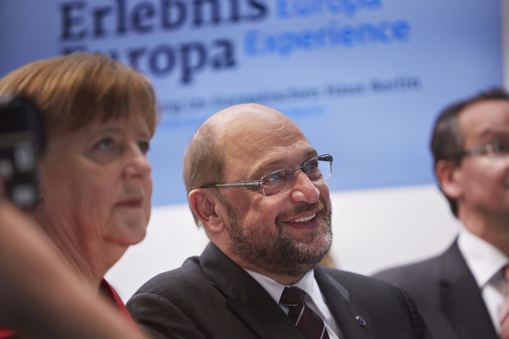 German TV debate between Merkel and Schulz focuses on migration and Islam, catering to populists