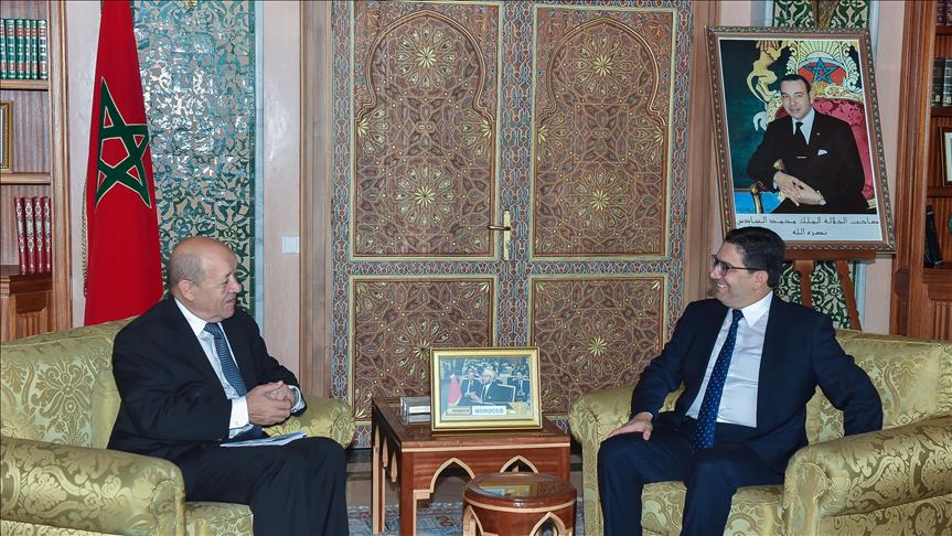 Moroccan, French FMs discuss economic, security ties